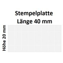 Holz 20 x 40 (Millimeter)