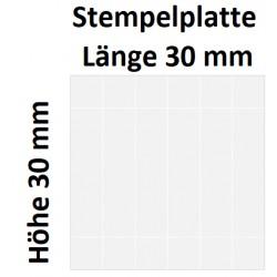 Holz 30 x 30 (Millimeter)