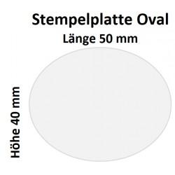 Holz Oval 40 x 50 (Millimeter)